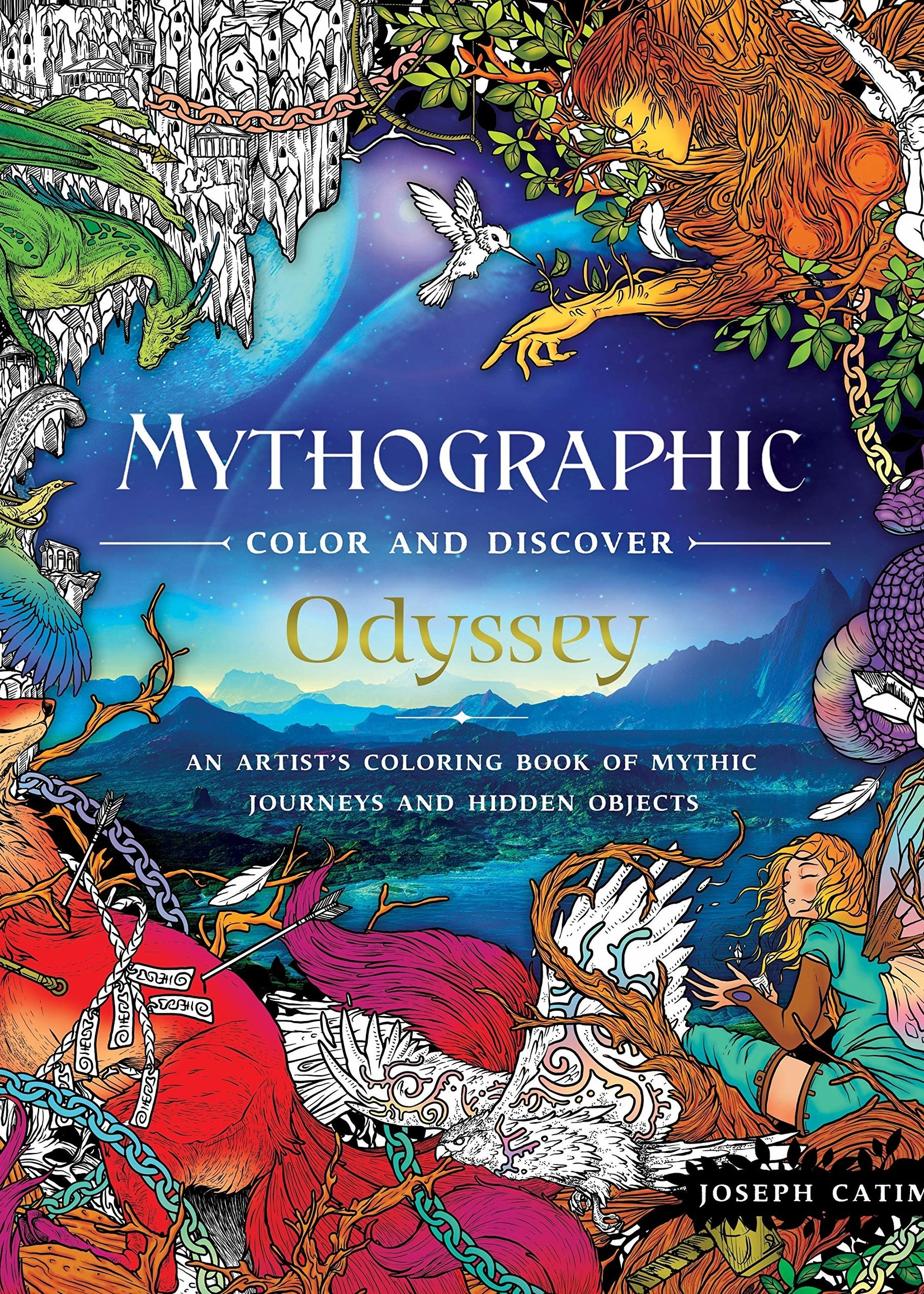 Mythographic Color and Discover: Odyssey - Paperback