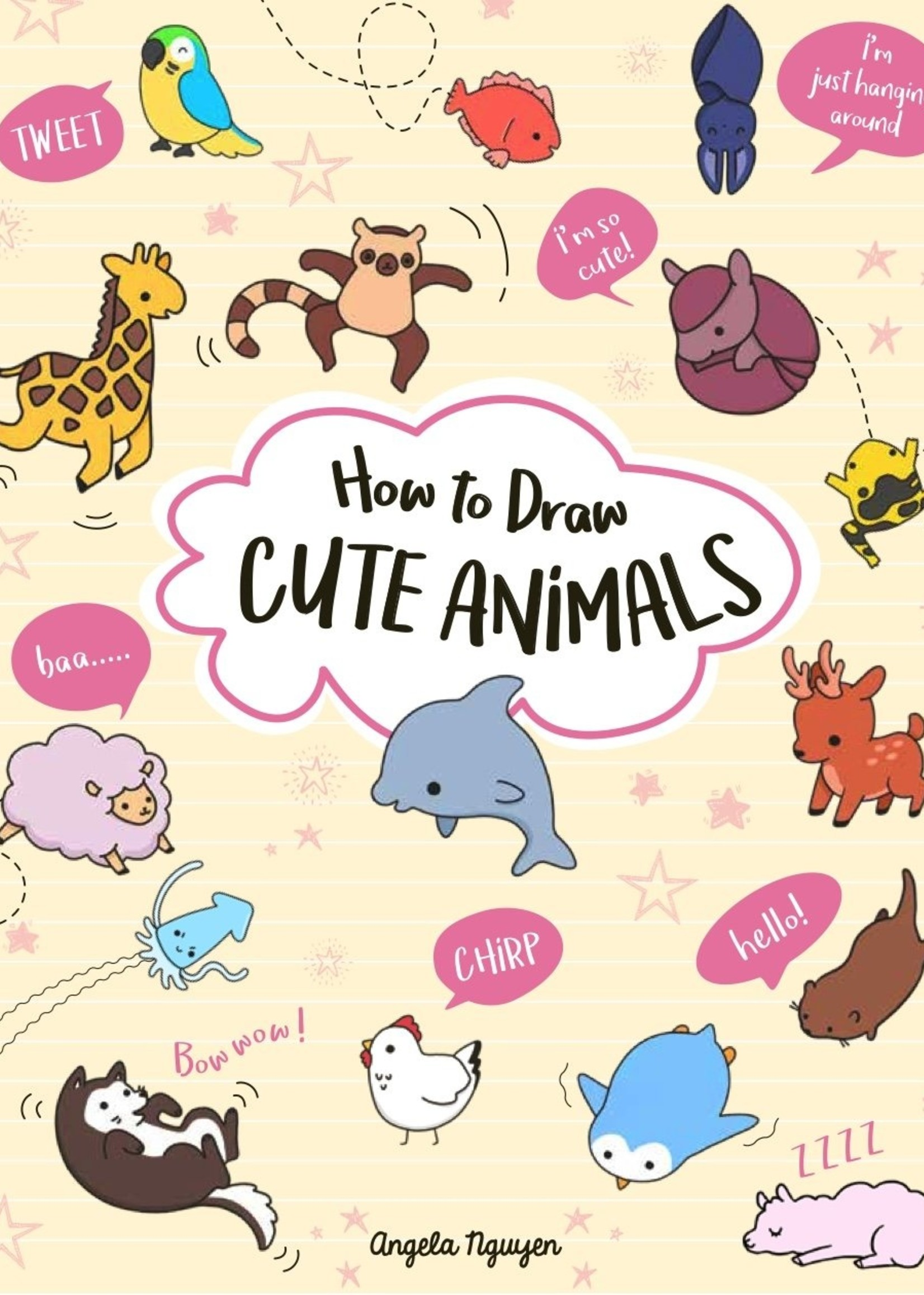 How to Draw Cute Animals - Paperback