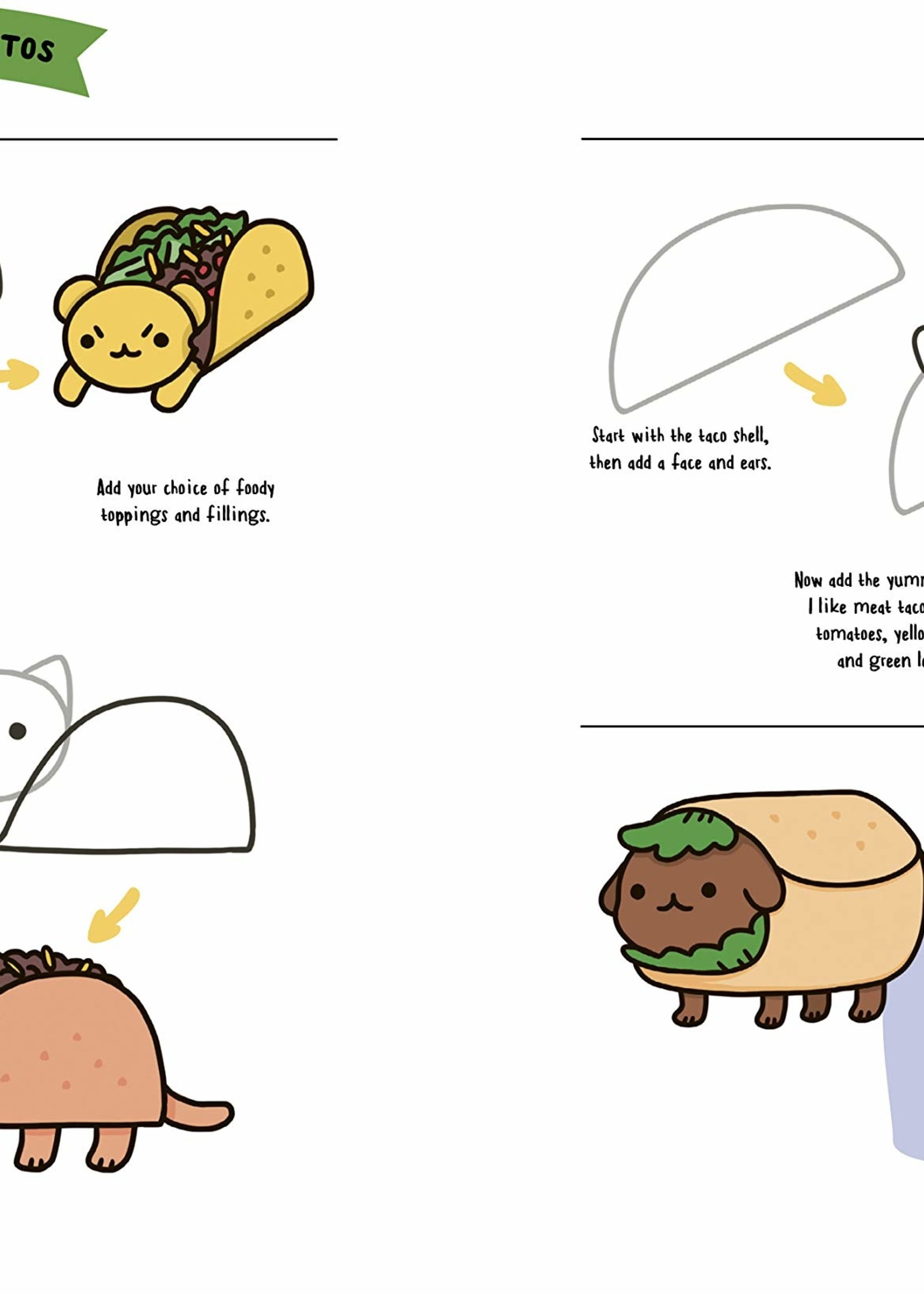How to Draw Cute Food - Paperback