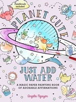 Planet Cute, Just Add Water Painting Book - PB