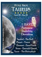 Star Sign Zodiac Kit, Taurus