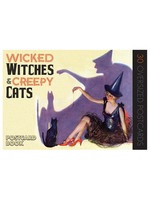 Wicked Witches & Creepy Cats Postcards, 30pc  - PB