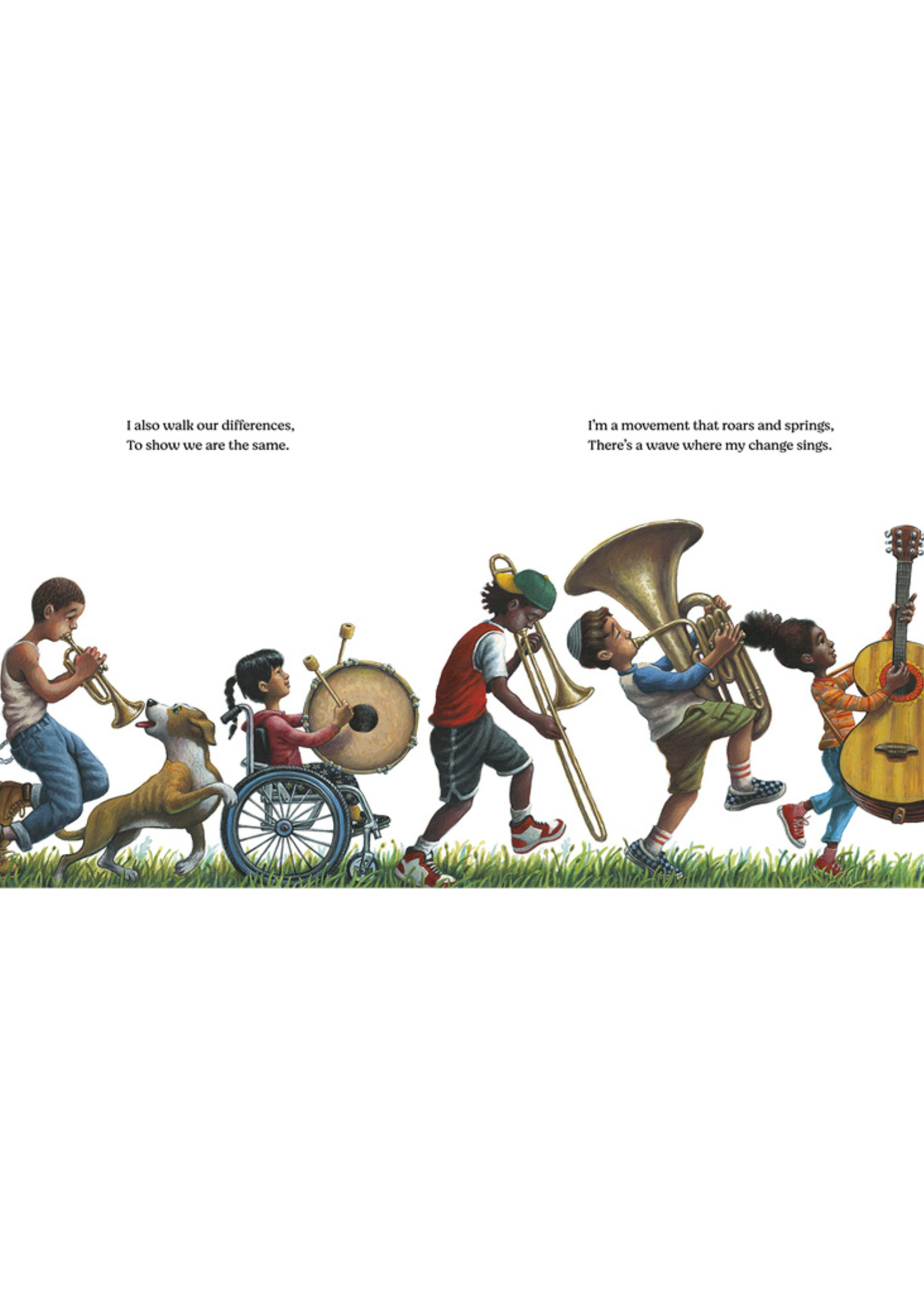 Change Sings, A Children's Anthem - Hardcover