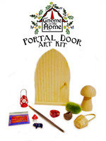 DIY Gnome in the Home Portal Door Art Kit
