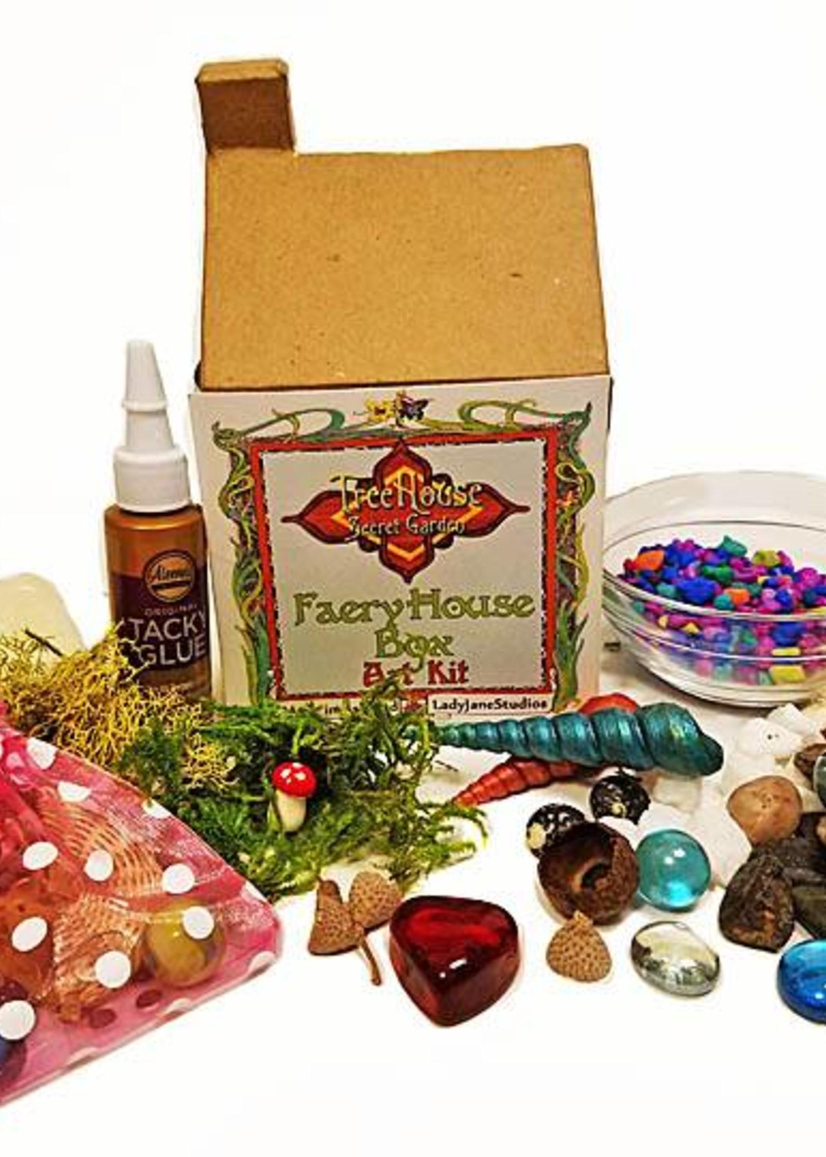 LadyJane Studios Faery House Box Art Kit