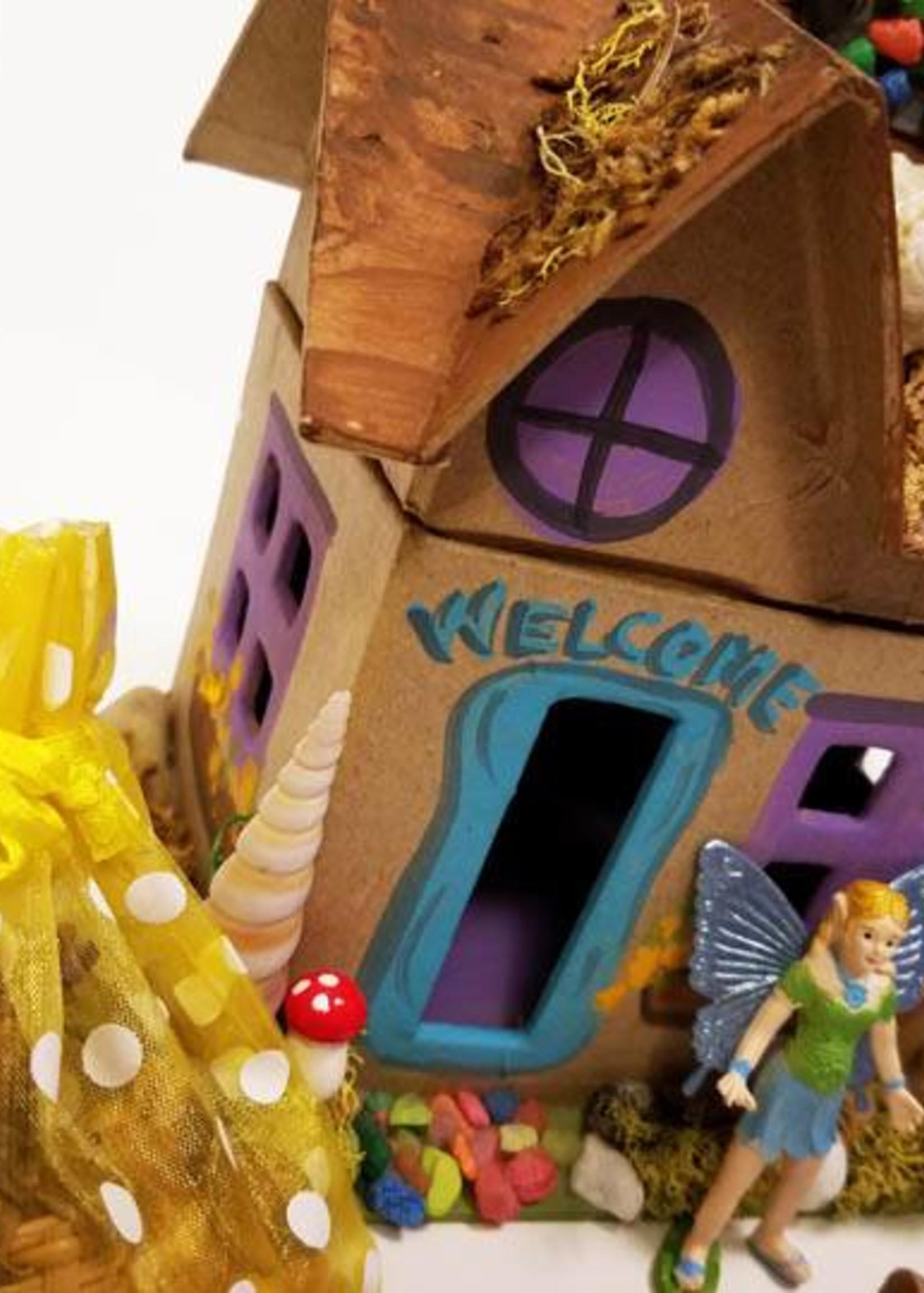 LadyJane Studios Faery House DELUXE Box Art Kit