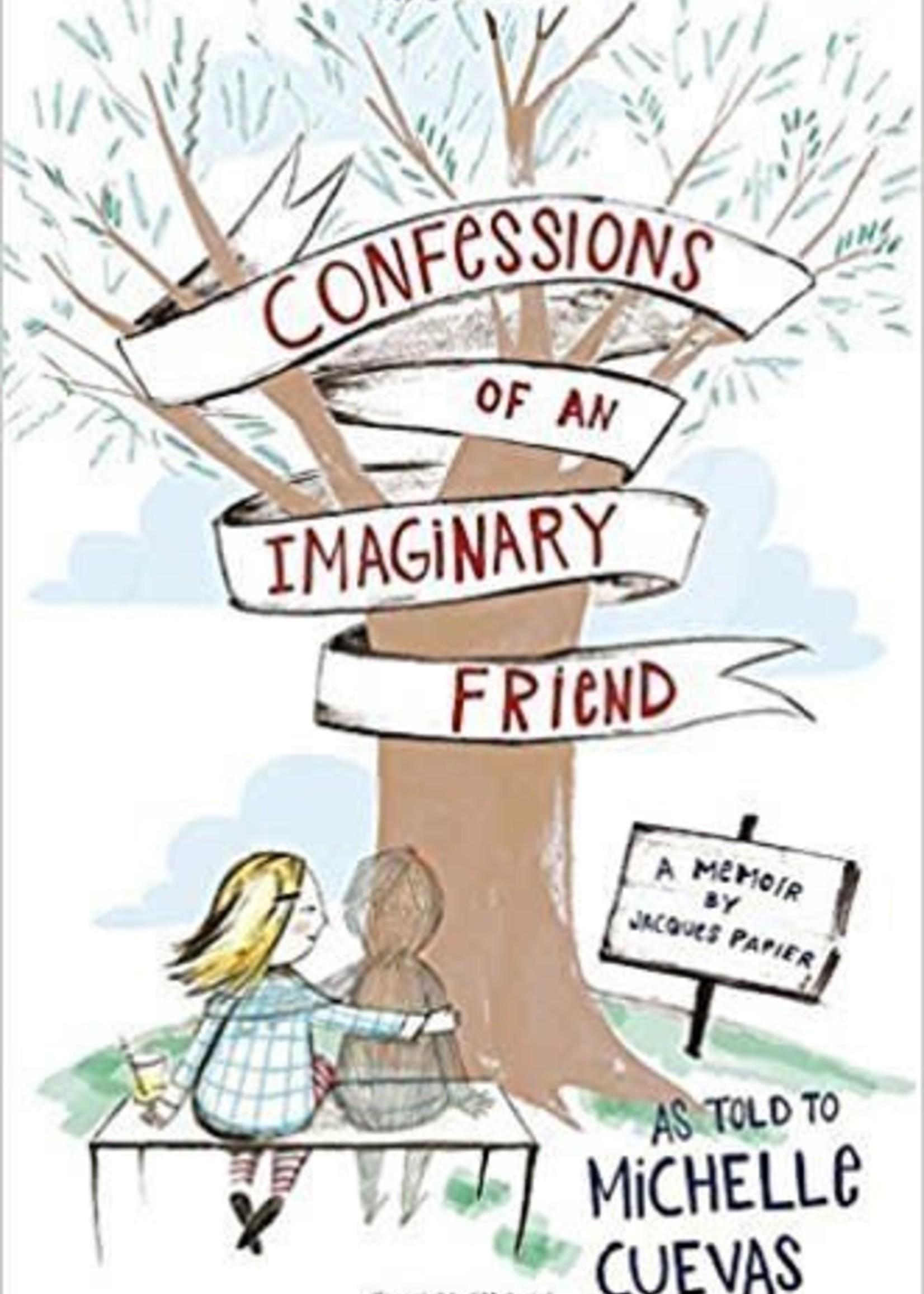 Penguin Random House Confessions of an Imaginary Friend, A Memoir by Jacques Papier - PB