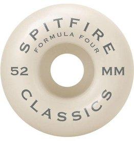 Spitfire Wheels Spitfire Wheels F4 99 Classics 52mm 99a (set of 4) White