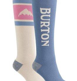 burton Snowboards Burton Women's Weekend Midweight Socks 2019 - 2 pak - Stout White