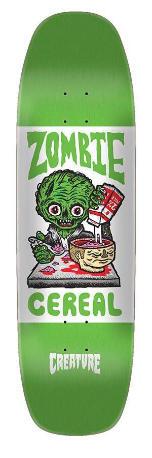 Creature Creature Zombie Cereal Skateboard Deck 8.25 x 31.95