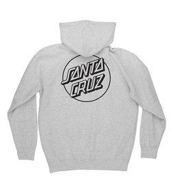 Independent Santa Cruz Opus Dot P/O Hoodie - Grey