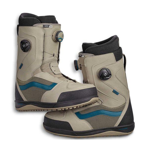 3b07ea1c05d Vans 2019 Vans Aura Pro Boots - Khaki Blue - Attic Skate   Snow Shop