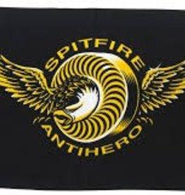 Anti Hero Spitfire X Anti Hero LTD Classic Eagle Towel Black