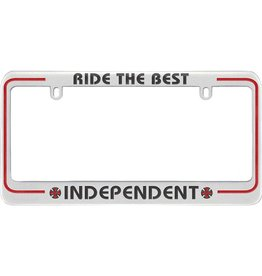 Independent Independent Ride The Best License Plate Frame
