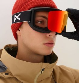 Burton 2019 Anon Men's M3 Goggle - Black/Sonar Red