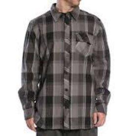 Sullen Sullen Clothing Flannel Long Sleeve - Black/Grey