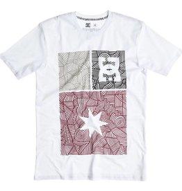 DC DC Shoes Ornate T-Shirt - White