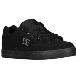 DC DC Pure Skate Shoes - Black/Pirate Black (LPB)