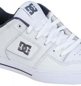 DC DC Pure Skate Shoes - White/Battleship/White (HBW)