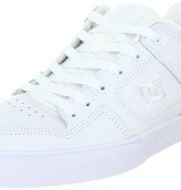 DC DC Pure Skate Shoes - White/Metallic/Silver (WSR)