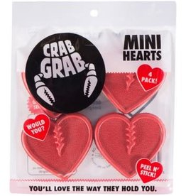 Crab Grab Crab Grab - Mini Hearts - Red