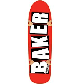 Baker Baker Brand Logo Cruiser Deck Red/White 8.5""