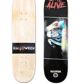 Creature Madrid x Halloween Skateboard Deck - Laurie Stay Alive