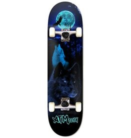 "ATM ATM Skateboard Complete - Wolves - 8"" x 31.75"" x 14WB"