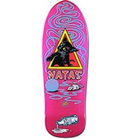 Santa Cruz Skateboards SMA Natas Kitten Re-Issue Pearl Pink Deck 9.89x29.82
