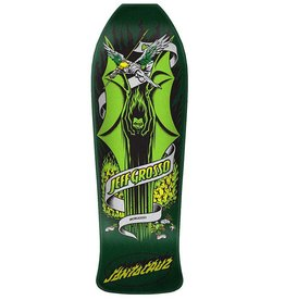 Santa Cruz Skateboards Santa Cruz Jeff Grosso Demon Re-Issue Deck Green 9.98 x 30.07 x 15.25