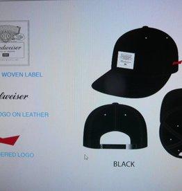 4c0d88e3 Huf Huf x Budweiser Label 6 Panel Strapback Hat - Black