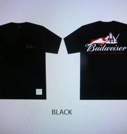Huf Huf x Budweiser Heritage S/S T-Shirt - Black
