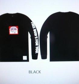 Huf Huf x Budweiser Label L/S T-Shirt - Black