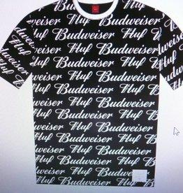 Huf Huf x Budweiser S/S Knit Top - Black