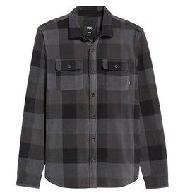 Vans Vans Hillcrest Button Down Shirt - Black/Charcoal