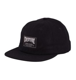 Creature Creature Frvr Nded Snapback Dad Hat - Black