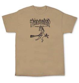Thrasher Thrasher Witch Shirt - Tan