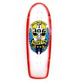 """Dogtown Dogtown OG Bull Dog Rider Deck 10"""" - White/Red Fade"""