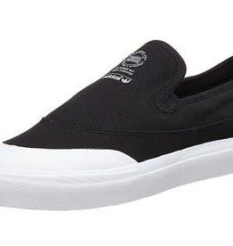 Adidas Adidas Match Court Slip On Skate Shoes - Black/White
