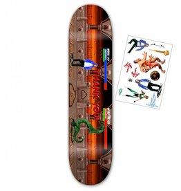 "Santa Cruz Skateboards Thank You - Daewon Song Kombat Deck 8"""