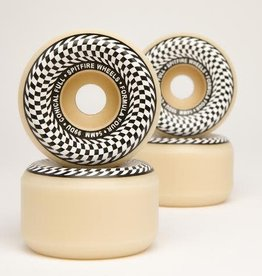 Spitfire Wheels Spitfire F4 Conical Full Wheels Natural 54mm 101a (Set of 4)