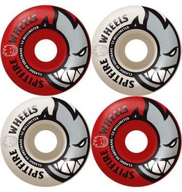 Spitfire Wheels Spitfire Bighead Wheels 53mm 99a (set of 4) Red/White