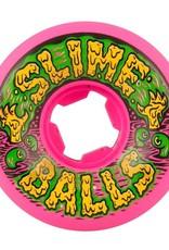 Santa Cruz Skateboards Slime Balls Swamp Balls Wheels Vomit Mini Neon Pink 54mm 97a (set of 4)
