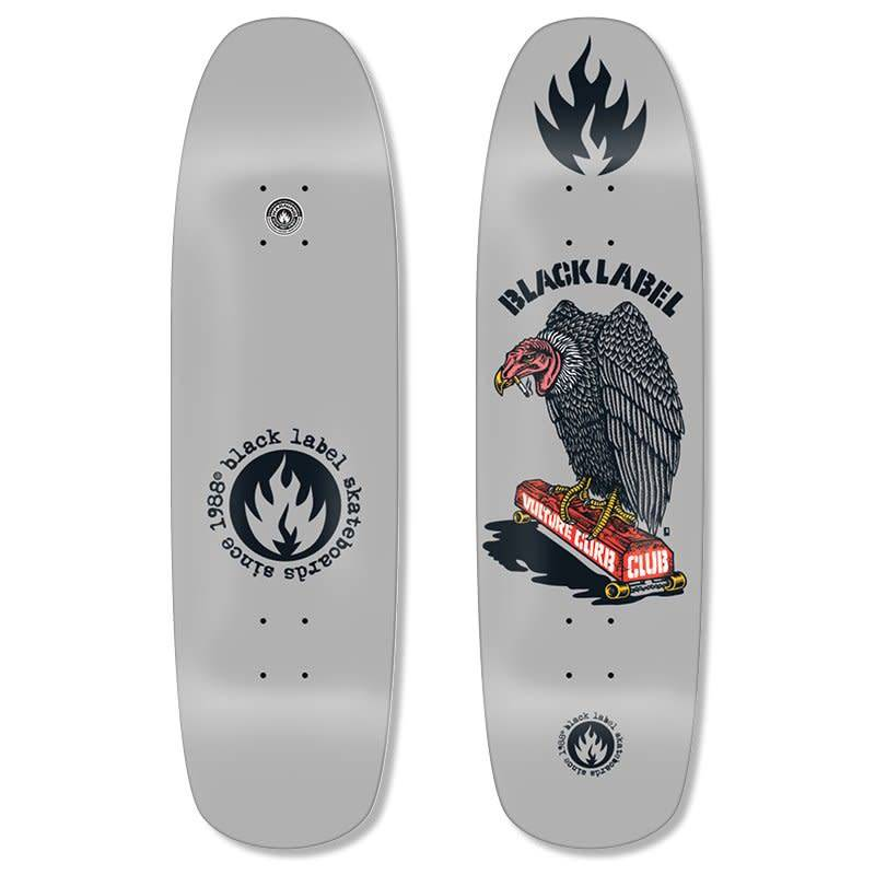 Black Label Black Label Vulture Curb Club Deck 8.88 x 32.25 x 14.75WB - Grey Dip