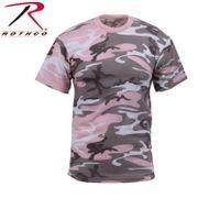 Rothco Rothco Subdued Pink Camo T Shirt