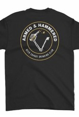 Beer Savage Beer Savage Armed and Hammered T-Shirt - Black