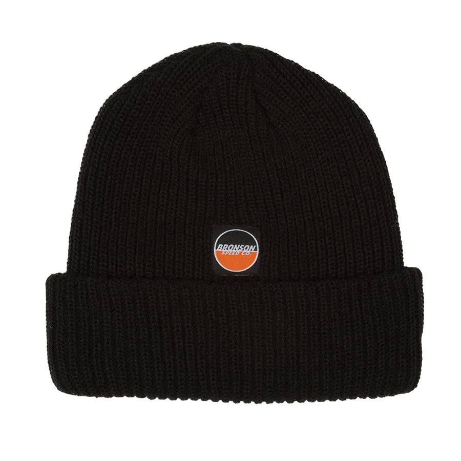 Independent Bronson Spot Logo Beanie Long Shoreman Beanie - Black