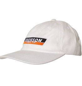 Bronson Speed Co. Bronson Speed Co Strip Unstructured Low Profile Hat - White