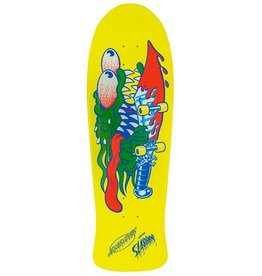 "Santa Cruz Skateboards Santa Cruz Slasher Re-Issue Deck- 10.1"" x 31.13"""