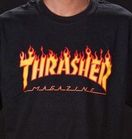 Thrasher Thrasher Flame Logo T-Shirt - Black